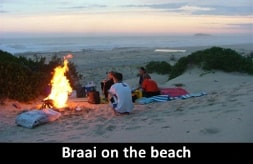 Braai on the beach