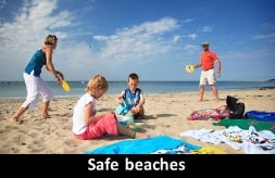 Safe beaches