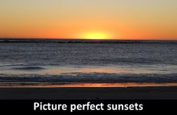 Picture perfect sunsets