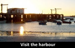 visit the harbour